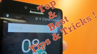 Best Tips and tricks for Lenovo phone (Fix slowing down, improve productivity) [Lenovo A6000]
