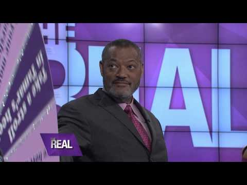 Laurence Fishburne Does His Best Vanna White Impersonation