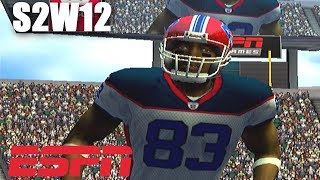 WILD FIRST HALF - ESPN NFL 2K5 BILLS FRANCHISE VS BENGALS S2W12