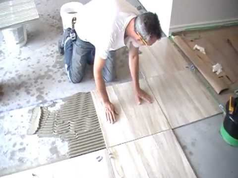 Installing Tiles Bathroom Kitchen Basement Tile