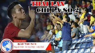 Quế Ngọc Hải 'đáp trả' sự khiêu khích của CĐV Thái Lan tại King's Cup