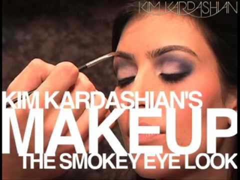 Kim Kardashian : Smokey Eyes Tutorial