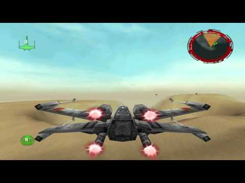 Star Wars Rogue Squadron 3D PC - Mission 1 : Mos Eisley