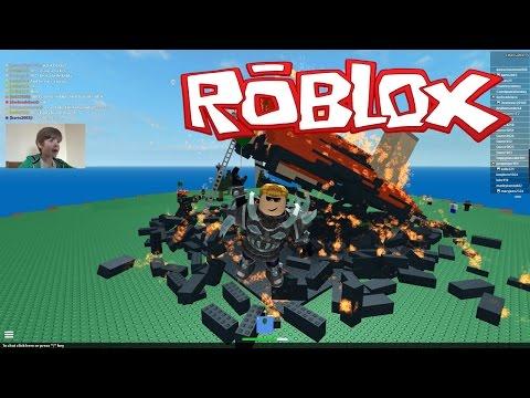 Playing Roblox: Natural Disasters Survival (KID GAMING)