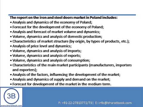 Get 50% Disc. Poland: iron and steel doors market.