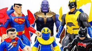We Need Better Equipments~! Go Batman & Superman  - ToyMart TV