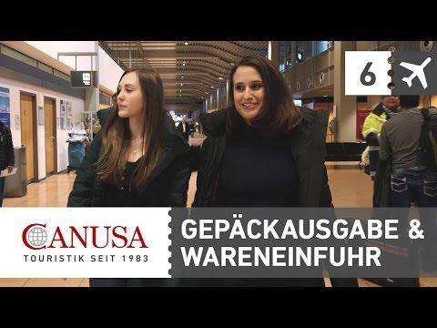 CANUSA erklärt: Gepäckrückgabe & Wareneinfuhr | CANUSA