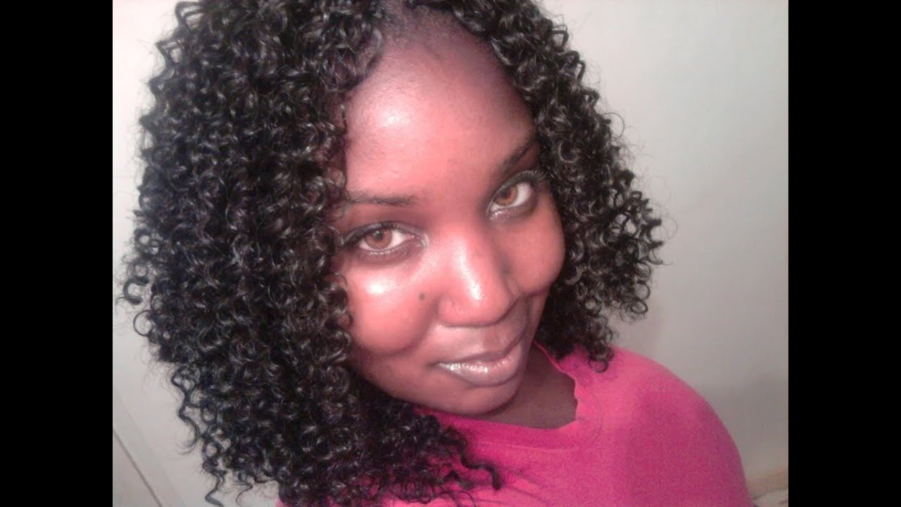 Crochet Braids Tutorial : Quick Crochet Braid Tutorial- Results - YouTube