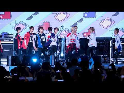[4K60p] 180811 더보이즈 The Boyz - Text Me Back @ KIMA WEEK 2018 개막식 무대 (포항 영일대해수욕장) 직캠 / Fancam