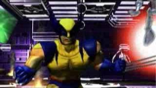 X-Men Mutant Academy 2 Intro Playstation One