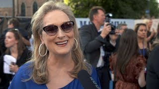 MAMMA MIA! 2 Here We Go Again WORLD PREMIERE Interviews - Meryl Streep, Amanda Seyfried, Colin Firth