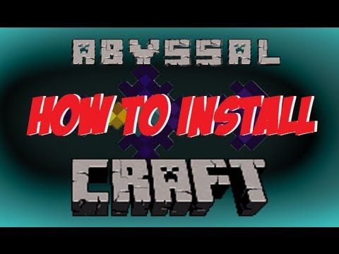 How to Install ► Abyssal Craft ◄ 1.6.2