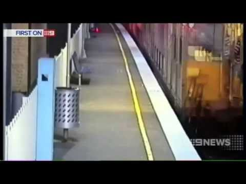 [Nine News Sydney] Train surfing - 5/5/2014