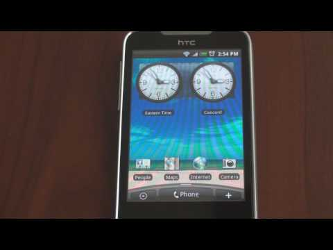 Video: HTC Legend User Interface Tour