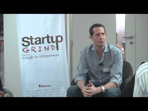 Richard Eldridge (Lenddo) at Startup Grind Manila