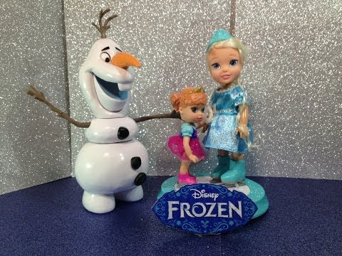 Disney Frozen Queen Elsa and Princess Anna Skating Together Disney Frozen Toy Doll