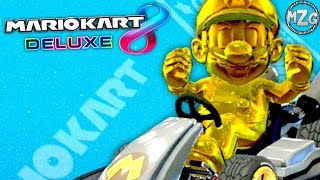 How to Unlock GOLD MARIO and 200cc Tips! - Mario Kart 8 Deluxe Gameplay