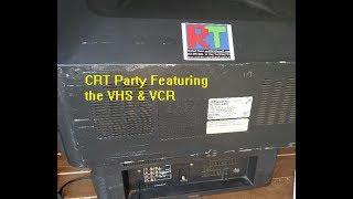 CRT 1990's Retro Party Set Up