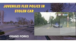 Grand Forks Juveniles Injured, After Rolling Stolen Car in Early Morning Police Chase