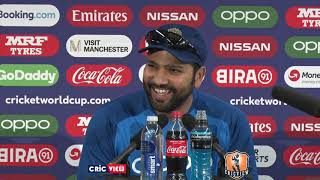 I am in a very good space  - Rohit Sharma | Press Conference | World Cup |  IND v PAK