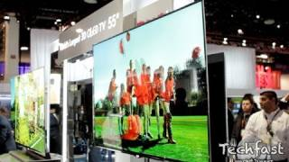 LG 55-inch 3D OLED TV_ First Look & Demo