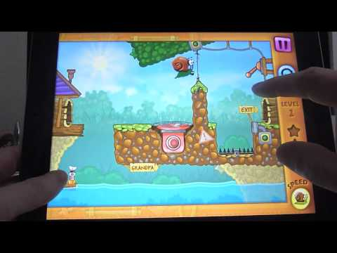 Adventure Game | Review Snail Bob iPhone iPad by appgefahren.de | Review Snail Bob iPhone iPad by appgefahren.de