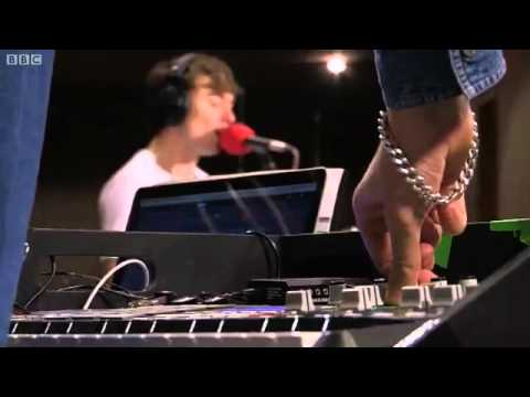 The Big Pink Hit The Ground Superman BBC Radio 1 Live Lounge 2011