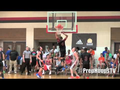 Chandler White 2015 Fort Wayne Carroll highlights at the Adidas Invitational