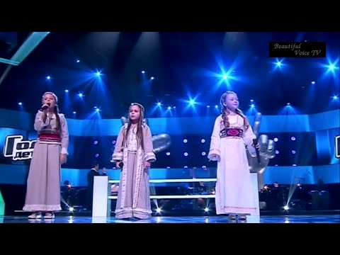 Daria/Olga/Arina.Ночка луговая.The Voice Kids Russia.