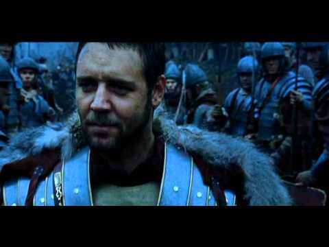 "Gladiator Soundtrack : ""The Battle""."