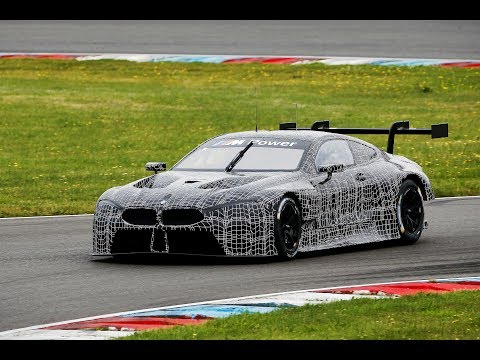 The BMW M8 GTE is here - BMW Motorsport.