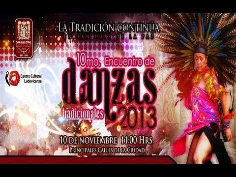 Décimo Encuentro de Danzas, San Luis de la Paz, Guanajuato - 10 Nov 2013