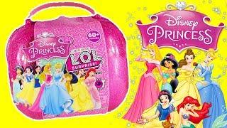 LOL Bigger Surprise Custom DISNEY Princess DIY Opening! Toys, Dolls & Kids FUN Activities (FAKE LOL)