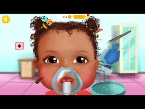 Play Fun Game Sweet Baby Girl Kids Hospital 2 Play Learn Dress Up & Dentist Games