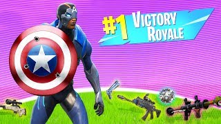 *NEW* AVENGERS In FORTNITE! (it's really cool)