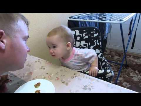 Малышка поговорила с батей по понятиям