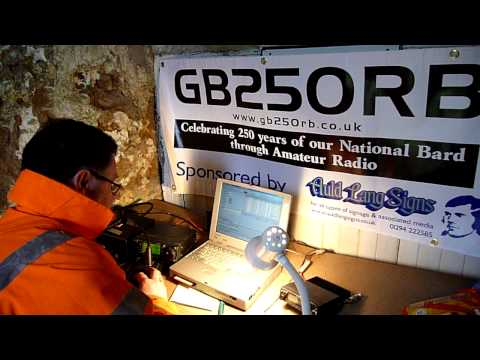 GB250RB Kilmarnock and Loudoun Amateur Radio Club