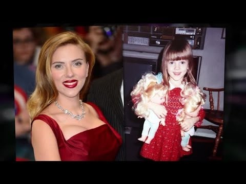 See Scarlett Johansson Way Before Her Role in 'Lucy'