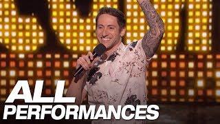 All Of Samuel J. Comroe's Full Performances On AGT - America's Got Talent 2018