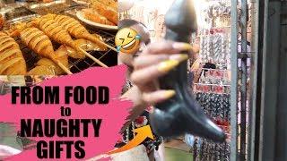 WHAT TO EAT IN BANGKOK? SNAILS? BLACK PASTA ?