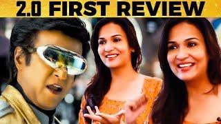 2.0 FIRST EVER REVIEW by Soundarya Rajinikanth   Shankar   TK