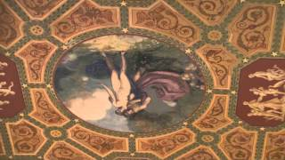 Palmer House Chicago, Magnificent Mural On Lobby Ceiling