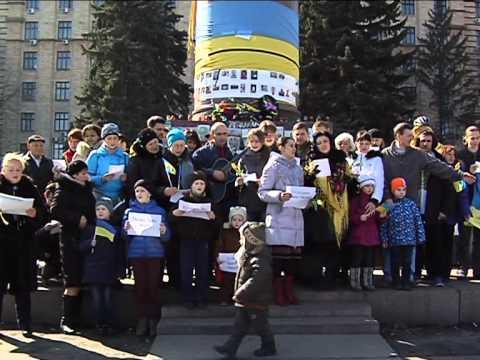 В Днепропетровске на Героев Майдана снимали клип на песню «Океана Эльзы»