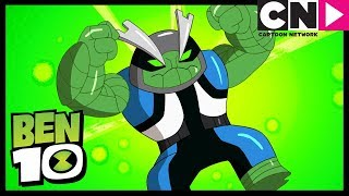 Ben 10 | Slapback Transformation - NEW ALIEN | Omni-Copped | Cartoon Network