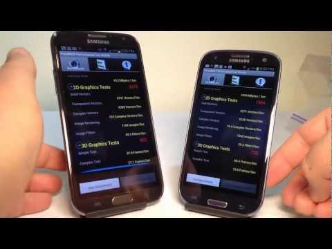 Samsung Galaxy Note 2 vs. Samsung Galaxy S3