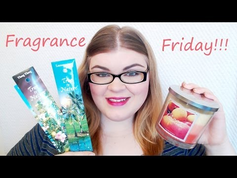 Fragrance Friday: Candle and Incense Haul