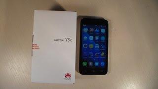 Обзор Huawei Y5c (Y541)