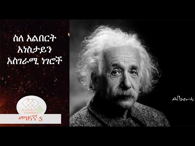 Amazing things about Albert Einstein, EthiopikaLink