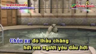 [Karaoke Nhạc Sống] Hy Vọng Mong Manh (DJ 2015)