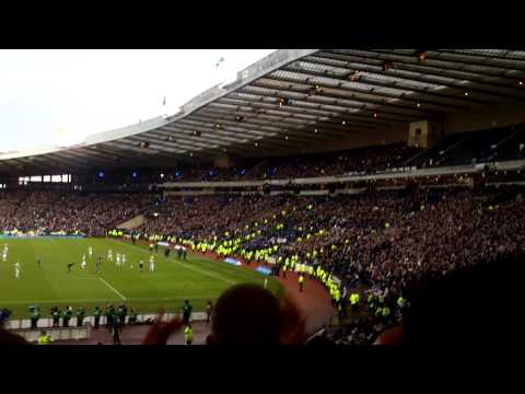 St. Mirren 3-2 Hearts: Scottish Communities League Cup Final 2013. The Last 2 Minutes.